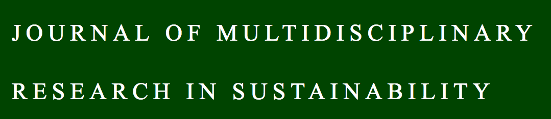 Journal of Multidisciplinary Research in Sustainability